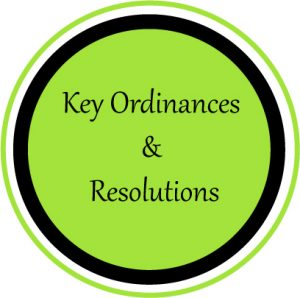 Ordinances and Resolutions 3