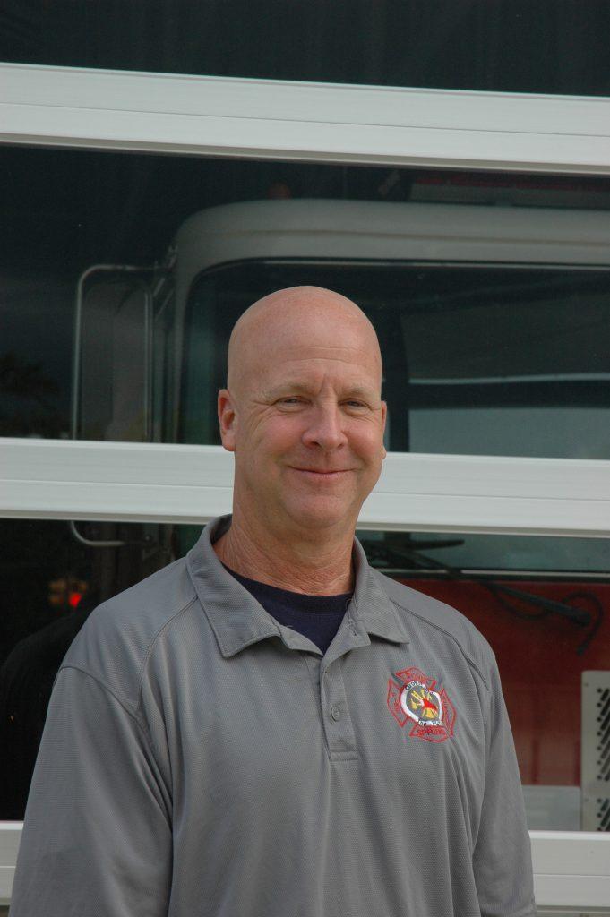 "Fire Chief William R. ""Rusty"" Johnson"